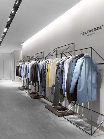 Рейлы для одежды оборудование для магазинов одежды вешала стойки