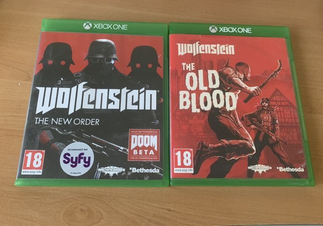 wolfenstein the new order ; wolfenstein the old blood