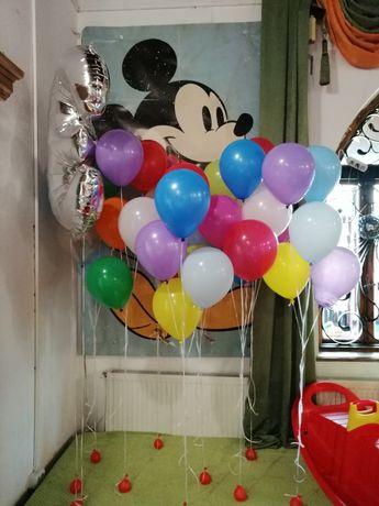 Baloane latex, folie, heliu
