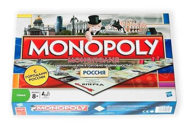 Настольная игра Монополия Россия Новая семейная Доставка