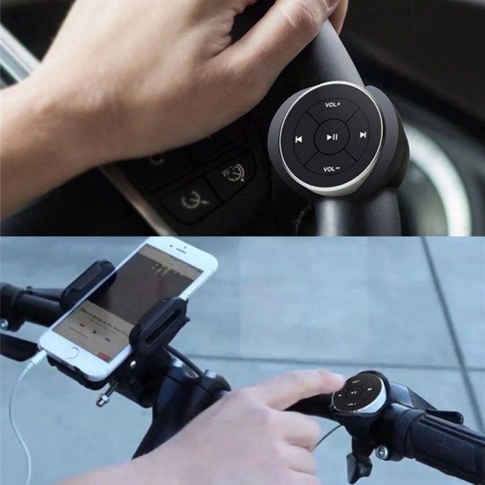 Telecomanda volan auto Bluetooth model: RX105 - auto, moto, bicicleta