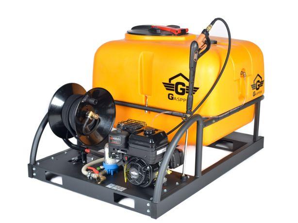 Aparat spalat presiune Gaspper 500l & 1000l vap karcher benzina Honda