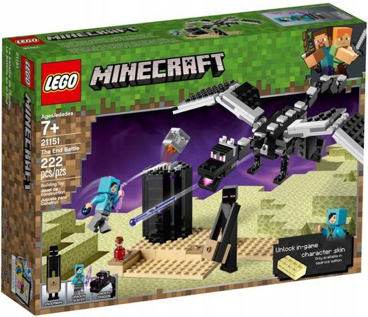 LEGO 21151 Minecraft Последняя битва новый оригинал !