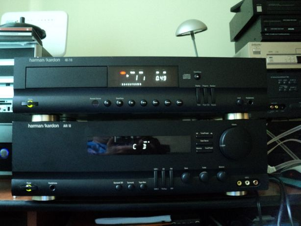 Harman Kardon AVR10,  cd HD710, Rotel RSX-972