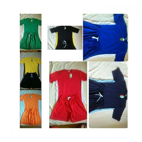Спортни екипи за футбол и волейбол