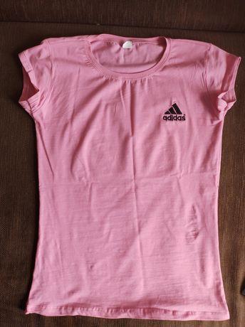 Tricou adidas roz