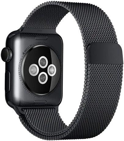 Curea Milanese Loop, Compatibila cu Apple Watch 1/2/3/4/5/6,