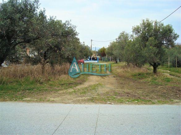 Парцел 806 м2 в курортно селище Паралия Врасна, Гърция, до плажа