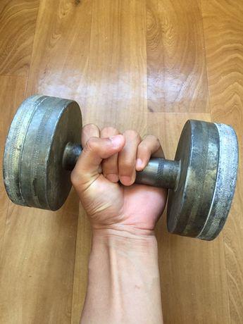 Гантель 10-15 кг