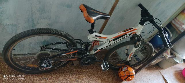 Велосипед за 25000 горный 2х подаестный