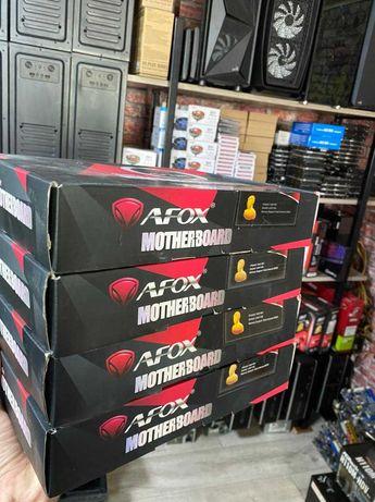 Материнские платы 1155s Afox и Др. новые в коробках, есть процессоры