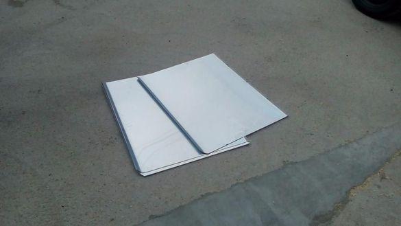 ПРОМОЦИЯ!!! Алуминиеви печатарски плаки /ламарина/ за кошери 74х60 см