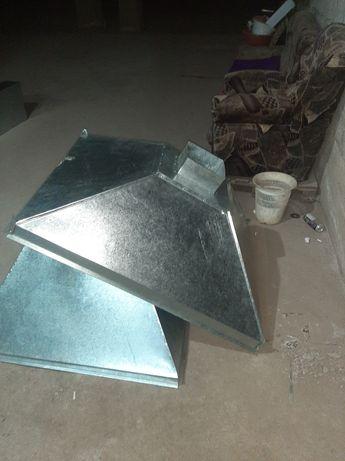 Вытяжные зонты , другие жестяночные работы (монтаж вентиляционной сист