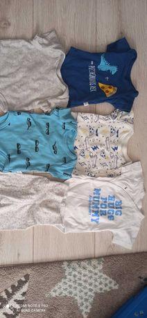 Бебешки дрехи боди с къс ръкав 0-3 месеца