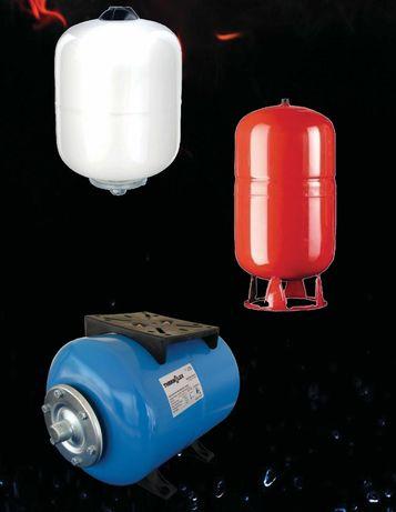 Мембранни разширителни съдове за Отоплителни и Хидрофорни системи