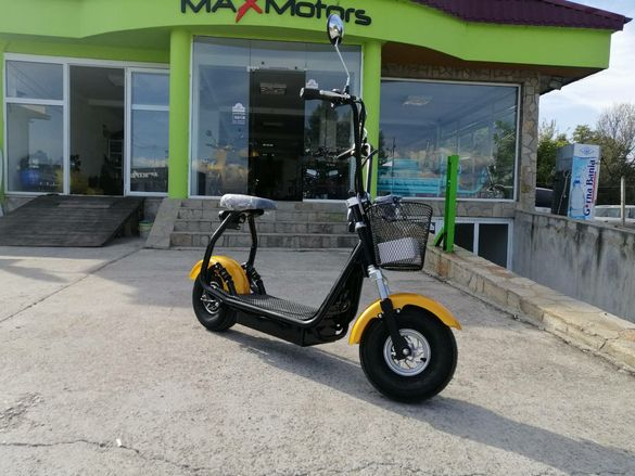ЕЛЕКТРИЧЕСКИ СКУТЕР Maxmotors Little City Harley 1200W NEW MODEL. Само