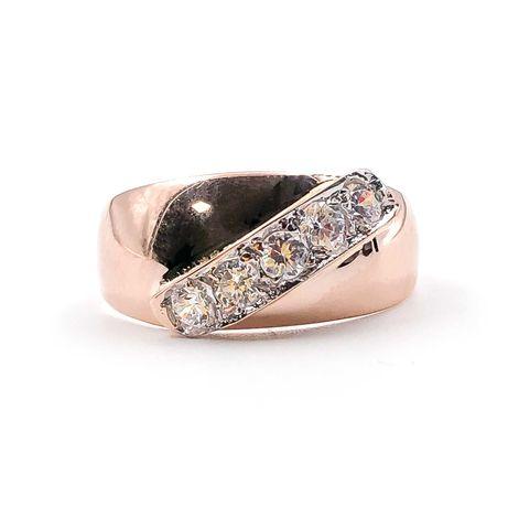 АКЦИЯ! Золотое кольцо, красное 585 «Ломбард Верный» С5872
