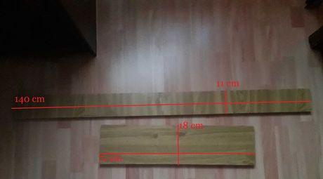 Placi de PAL melaminat 140 x 11 cm si 71 x 18 cm