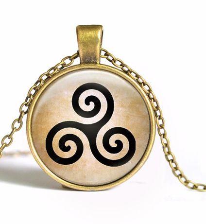 Колие(медальон) от филма Тиин Вълк Teen Wolf