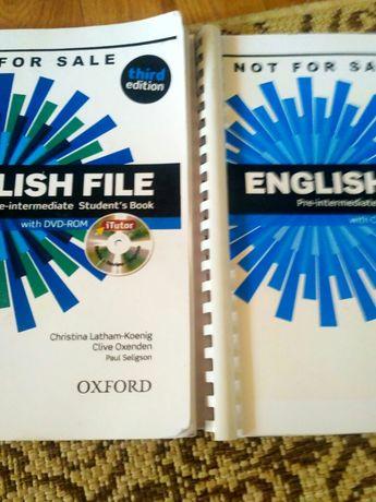 Книги по английскому есть разные уровни