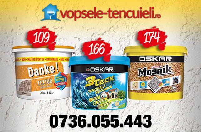 Tencuiala decorativa de la 85 lei OSKAR 3Teck, Danke, Caparol, Deko