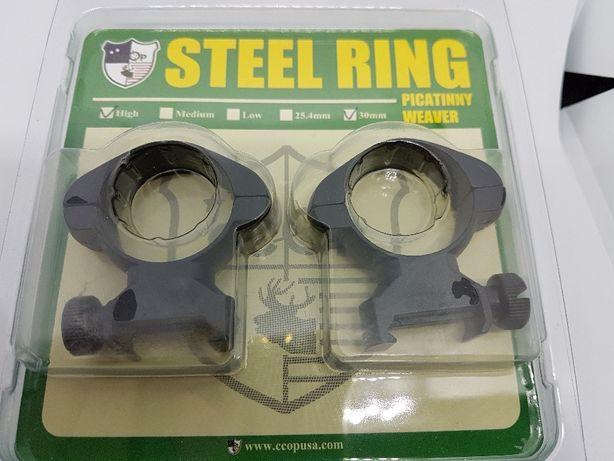 suporti otel de 30mm sina 21mm picatinny luneta arma vanatoare inalte