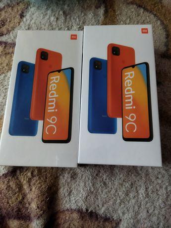 Продам смартфон запечатанный Xiami Redmi 9C,64GB