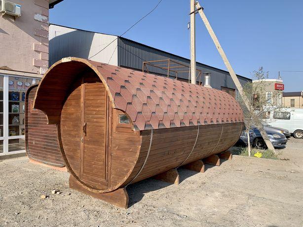 в наличии Баня Бочка 5 метров из кедра в Атырау
