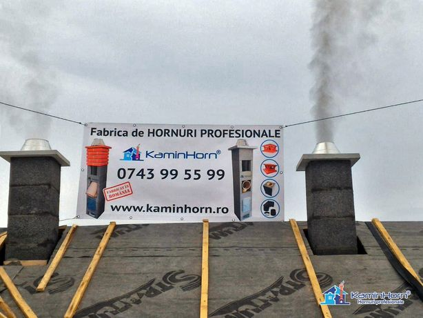 Cos de fum profesional KaminHorn Eco - Horn ceramic Garantie 30 ani BV