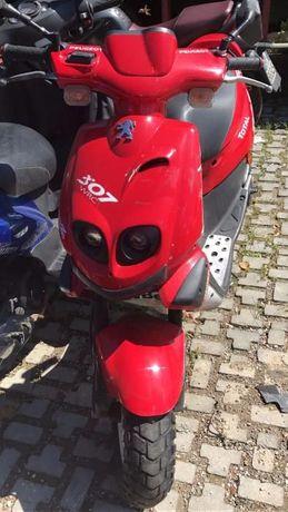 Мотоциклет; скутер пежо ТКР ТРАКЕР 2т 50сс. (TKR TREKKER)-НА ЧАСТИ