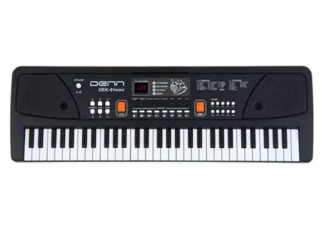 синтезатор denn DEK61 mini black