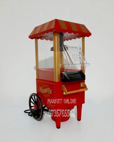 Masina,aparat retro pentru floricele de porumb,popcorn,1200W,NOU