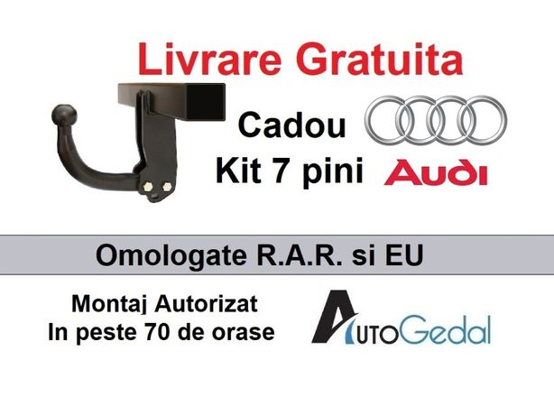 Carlig Remorcare Audi Q3 2011-2018 Livrare Gratuita - Omolgat RAR EU