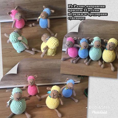 Плетени плюшени играчки