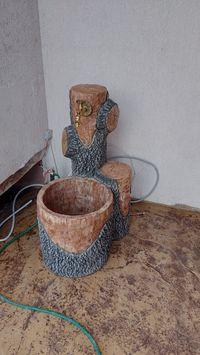 Мивка от щампован бетон
