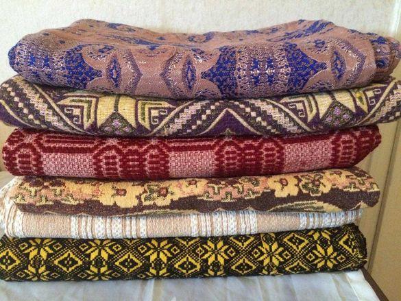 Покривки за легло – вълнени, памучни, жакардови - 6 бр.
