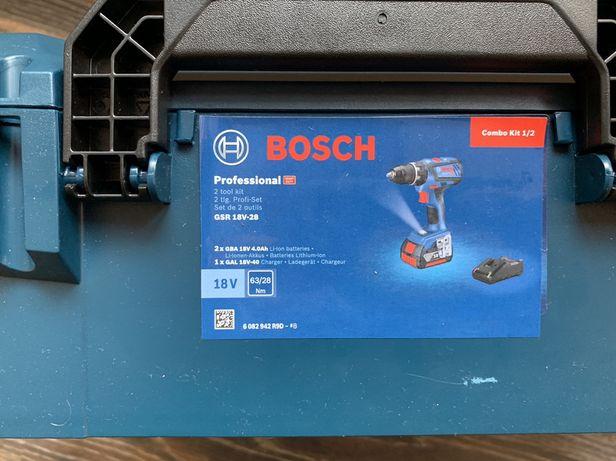 Set Masina de gaurit & insurubat si Rotopercutor pe acumulator Bosch