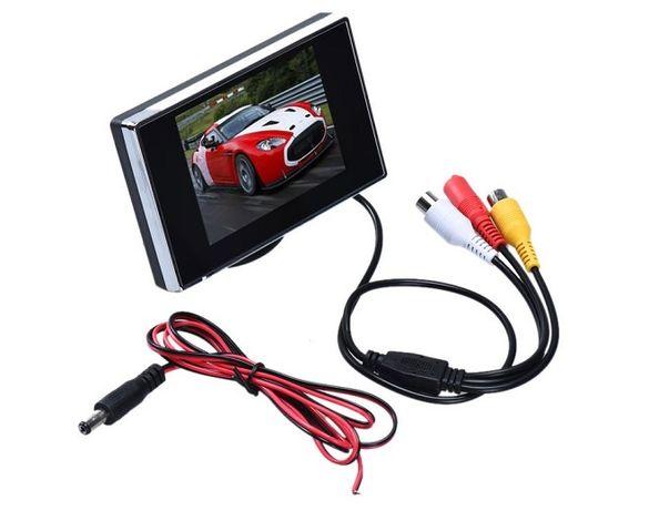 Monitor LCD 3.5 inch - Display Auto sau Supraveghere Video