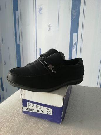 Продам туфли мальчиковые, б/у