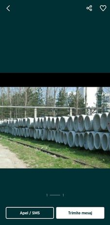 Tuburi beton armat premo noi dn 1000