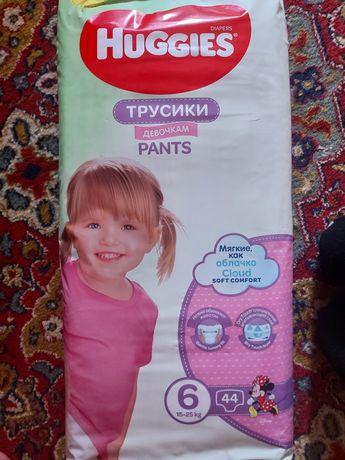 Трусики 6ка для девочек