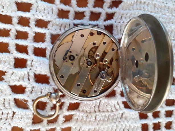 Ceas argint elvetian de buzunar