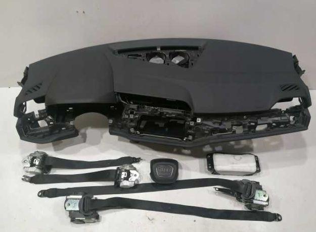 audi q3 83a f3b kit airbag volan pasager plansa de bord set centuri