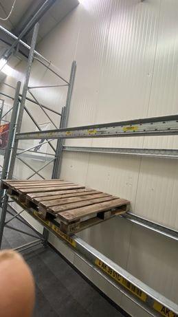 Поцинкован палетен стелаж SLP 700кг палет