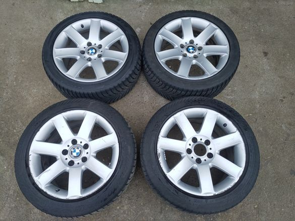 Джанти 17 цола 5х120 BMW с хубави гуми