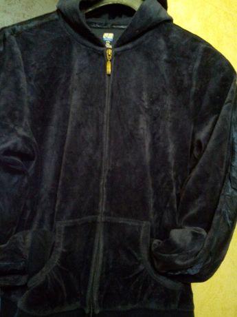 велюровый блейзер куртки на замке