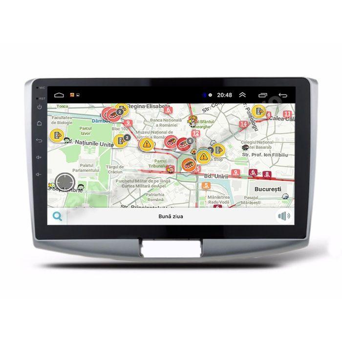 Navigatie Android Vw Passat B6 B7 CC Ecran 10.1 inch Carkit Waze Usb Bucuresti - imagine 1
