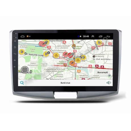 Navigatie Android Vw Passat B6 B7 CC Ecran 10.1 inch Carkit Waze Usb
