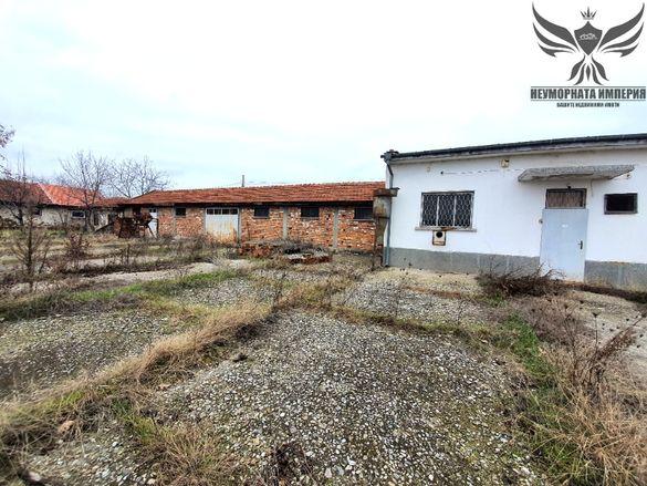 Промишлено помещение(склад) 1880кв.м. в село Болярци обл.Пловди