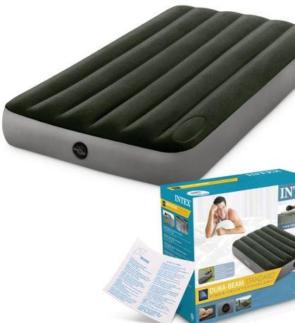 Матрас надувной новый в упаковке 2 спальный, размер 200 на 140 cм